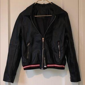 NWT BlankNYC Vegan Leather Moto Jacket